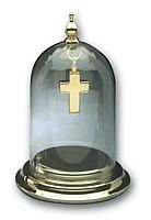 Gold Dome Keepsake Display