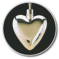 Small Heart Gold Vermeil Pendant