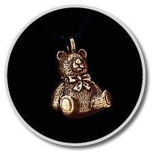 Brass Teddy Bear Pendant