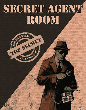 SECRET AGENT ROOM ESCAPE ROOM OCEAN CITY