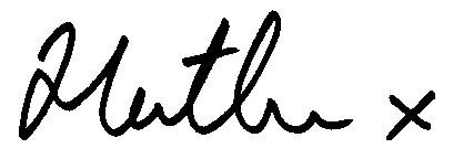 Heather's signature