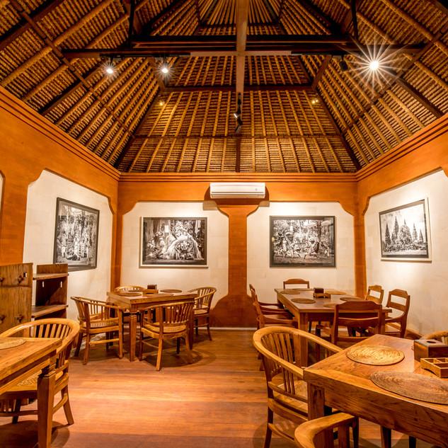 Bumbu Bali - Tanjung Benoa AC dining area
