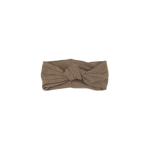 Taupe Knotted Band