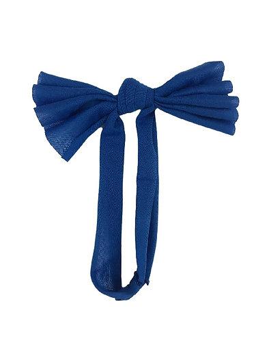 Royal Blue Floppy Bow