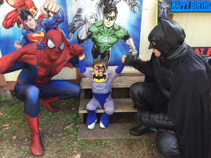Spiderman & Batman