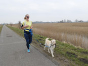 Running with Nicole and Siep: A kick in the ass!