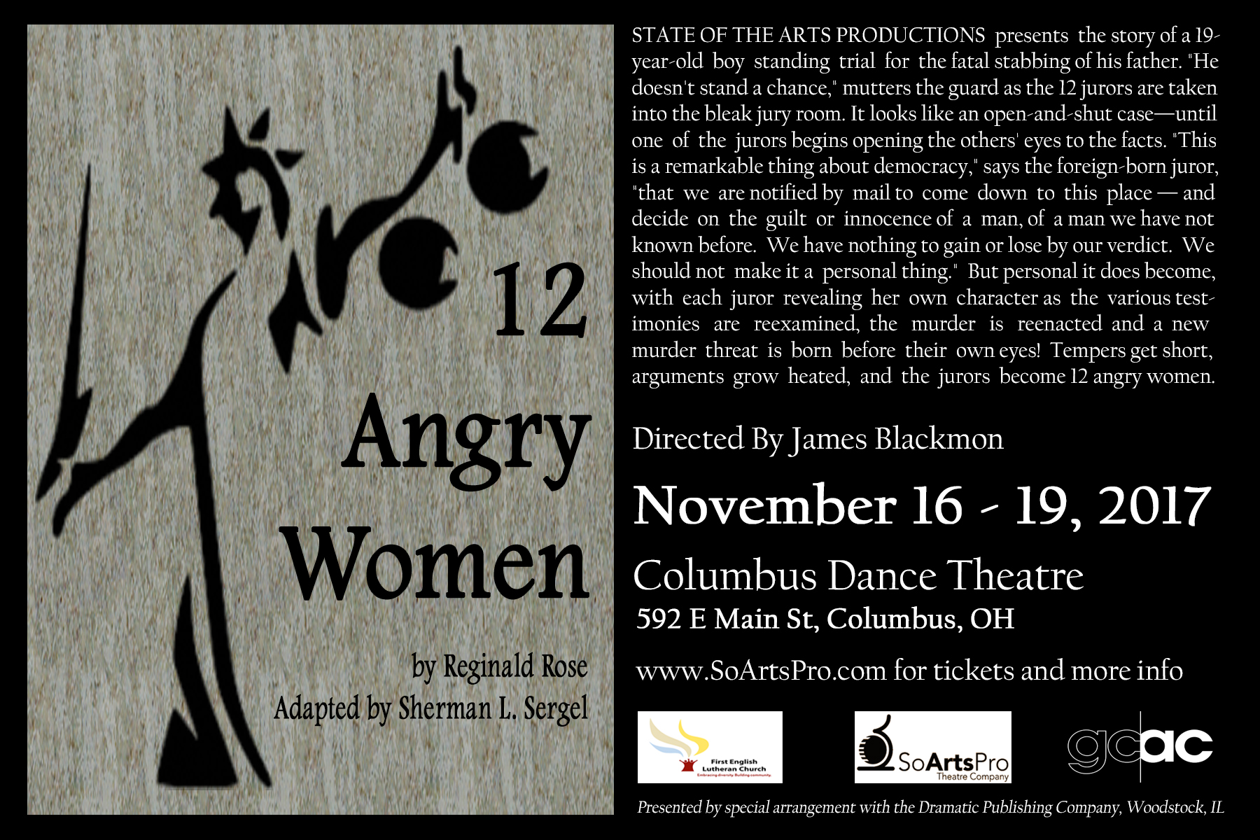 12 angry women Hot Card Front