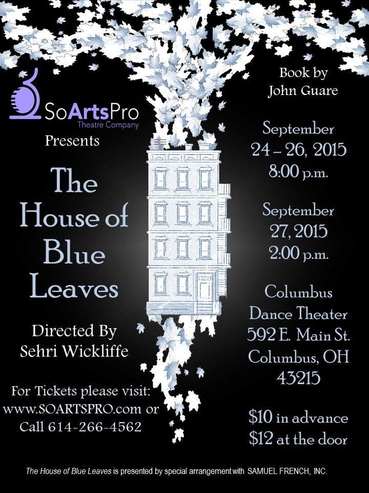 House of Blue Leaves Poster