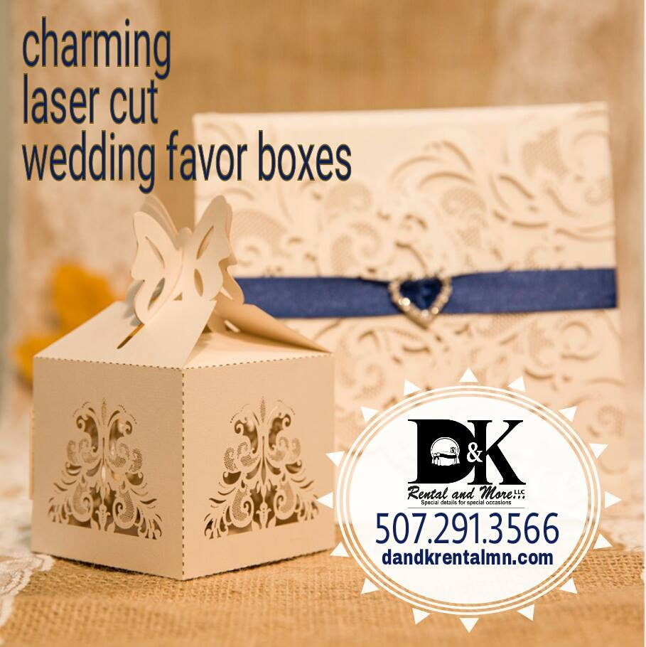 Invitation Cards and Favor Boxes