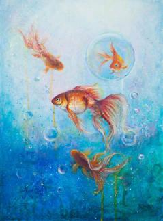 Озеро золотых рыб