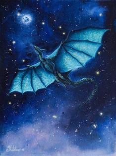 Бирюзовый дракон