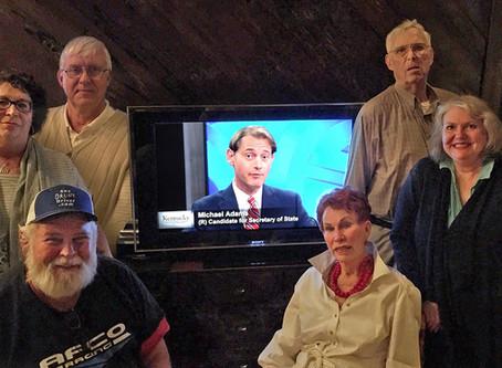OCGOP Members Support Secretary of State Candidate, Michael Adams, on KET's Kentucky Tonight