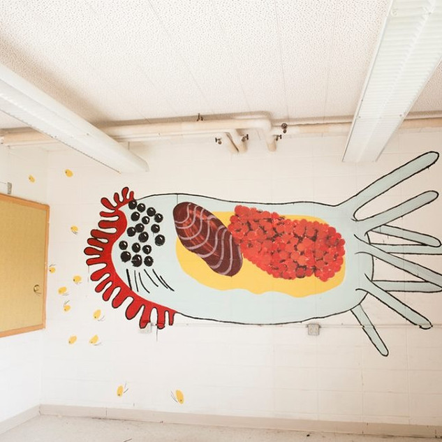 Creature Mural