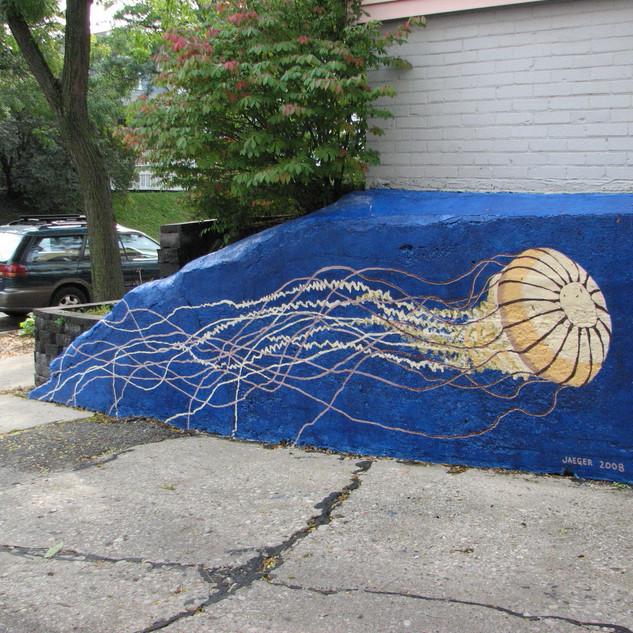Jellyfish Mural