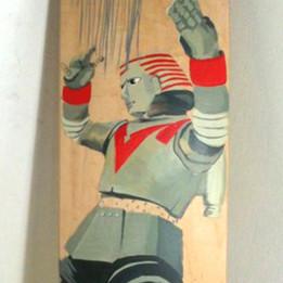 Johnny Sokkos Flying Robot Skatedeck
