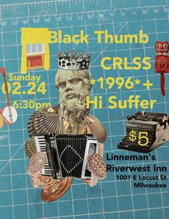 Concert poster design for printing