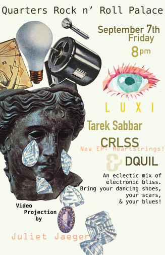 Concert poster for printing
