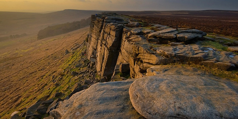 Landscape and Sunsets at Stanage Edge