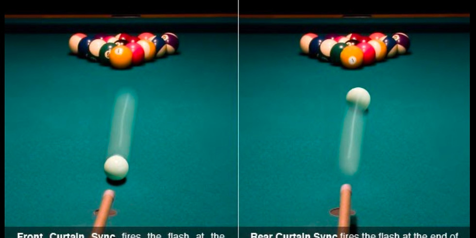 Tutorial: Using Rear Curtain Sync/Back Button Focus and Strobe Lights