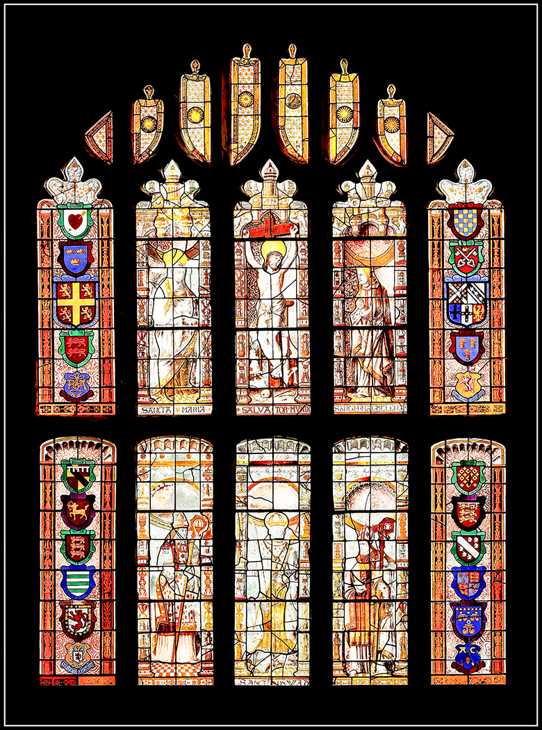 Window at St Micaels and Our Lady