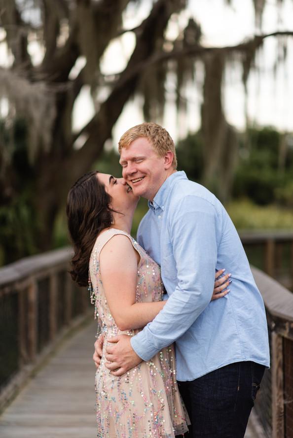 Paynes Prairie Engagement Session | Gainesville Engagement Photographer | CWP Photography