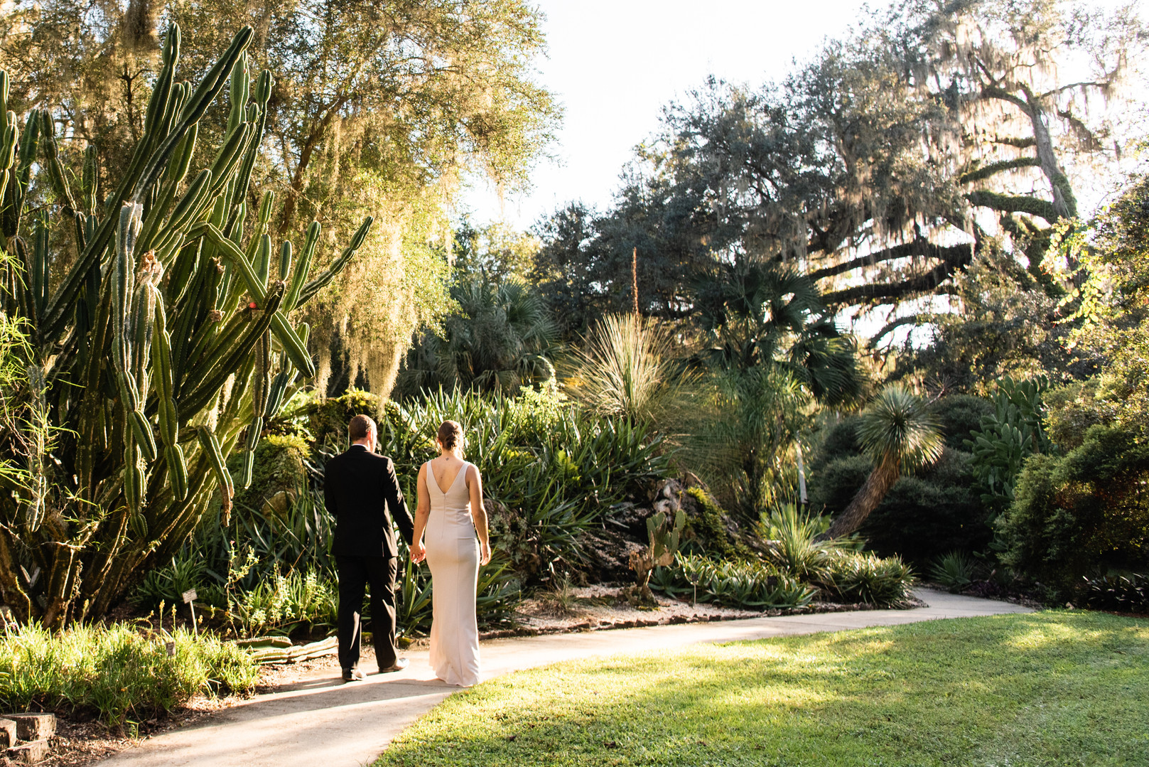 CWP Photography - Kanapaha Botanical Gardens Elopement