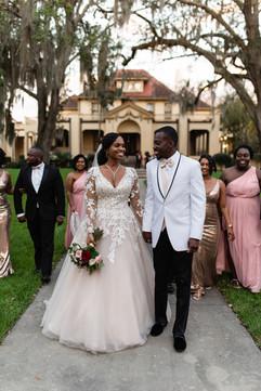 Bridal Party at Thomas Center