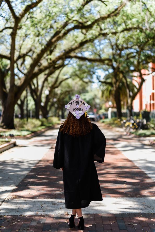 Graduation Session   Gainesville Portrait Photographer   CWP Photography