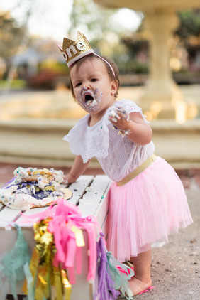 First Birthday Session | Gainesville Family Photographer | CWP Photography