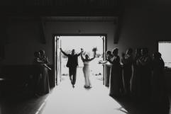 Bride & Groom Entrance at C Bar Ranch in Alachua, FL
