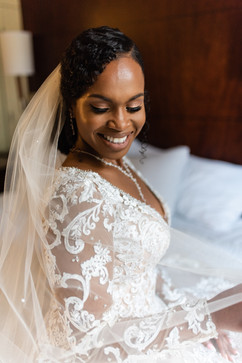 Bridal Portrait for Thomas Center Wedding
