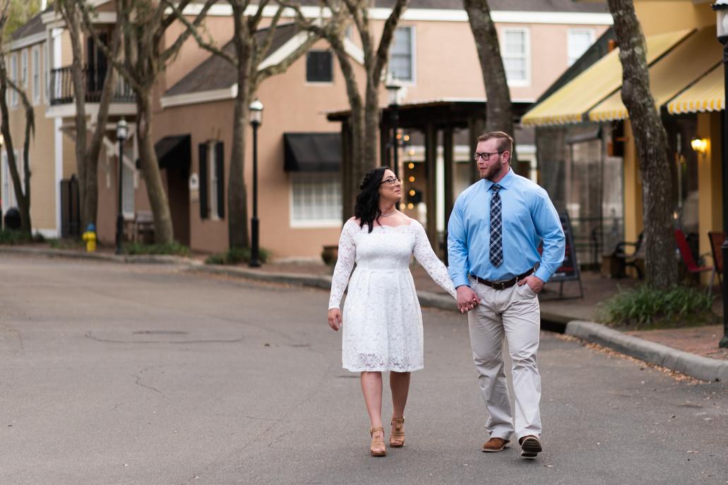 Sam & Joe Bridal Portraits - Gainesville Wedding Photographer - CWP Photography
