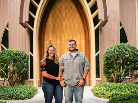 Ashlie & Jared: Baughman Center & Lake Alice Engagement