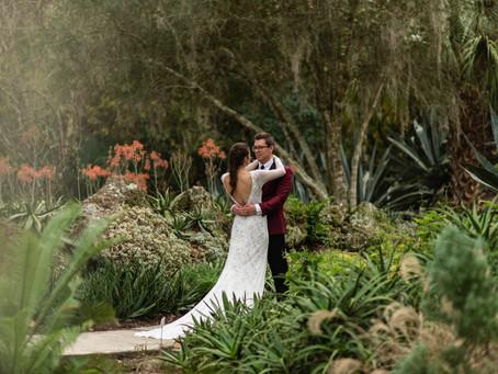 Sarah & Matt: Kanapaha Botanical Gardens Wedding