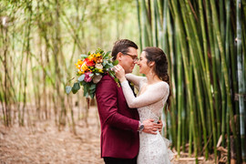 Matt & Sarah's Bridal Portraits in Bamboo Forest