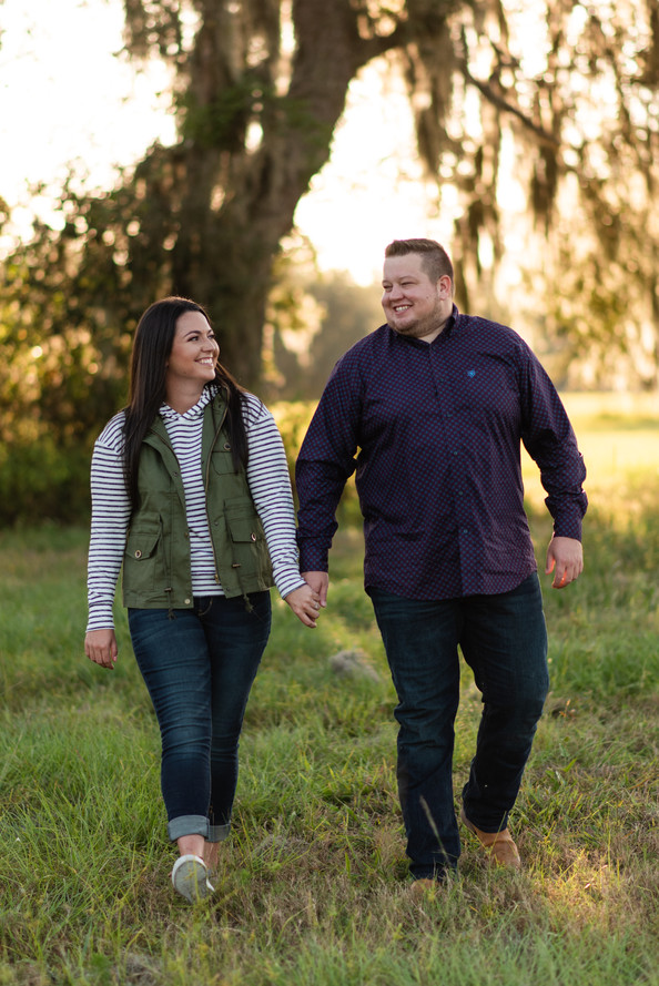 C Bar Ranch Engagement Session | Gainesville Engagement Photographer | CWP Photography
