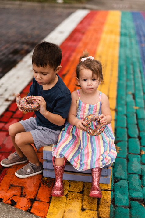 Downtown Gainesville & Halo Potato Donuts | Gainesville Lifestyle Photographer | CWP Photography