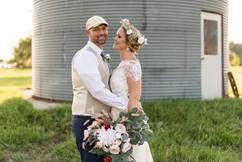 Bridal Portraits at C Bar Ranch