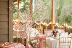 Reception Details at Kanapaha Gardens in Gainesville FL