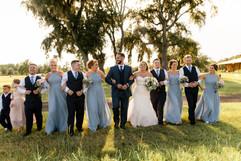 Bridal Party at C Bar Ranch in Alachua, FL