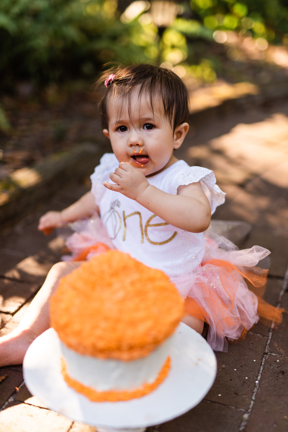 Cara's Cake Smash Session | Gainesville Family Photographer | CWP Photography