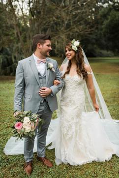 Wedding at Kanapaha Gardens in Gainesville FL