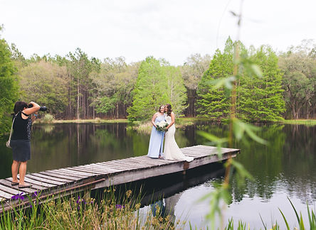 Southern Pines Wedding | Lake City Wedding Photographer | CWP Photography
