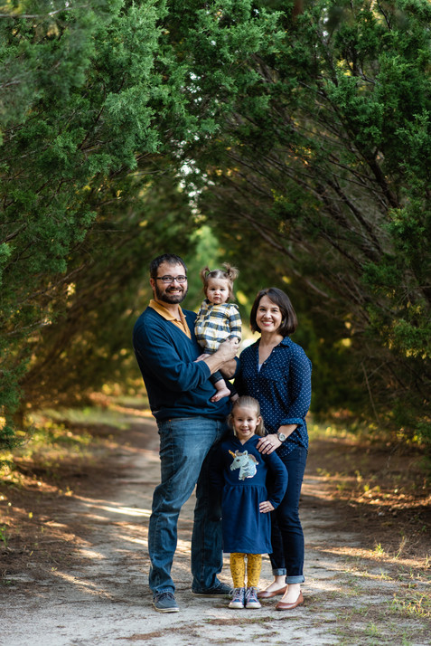 Fall Family Session | Gainesville Family Photographer | CWP Photography