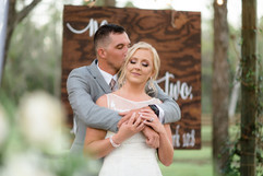 Wedding at Belle Oaks Barn