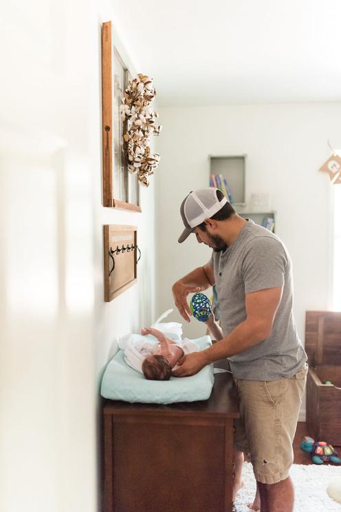 Gainesville Lifestyle Photographer - CWP Photography - Pardo Newborn Session