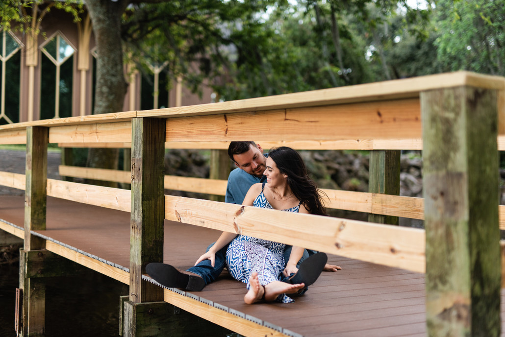 Lake Alice Couple's Session | Gainesville Engagement Photographer | CWP Photography