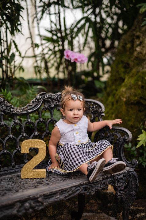 Jessie's 2nd Birthday Session | Birthday Milestone Session | CWP Photography