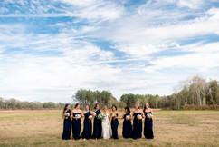 Bridesmaids at C Bar Ranch