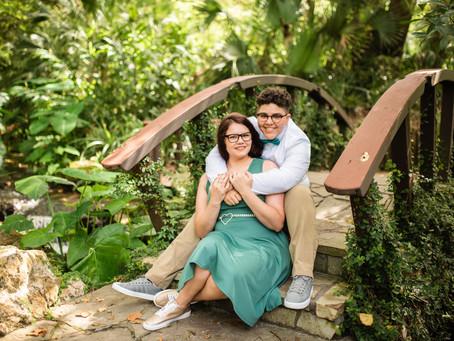 Toni & Paige: Kanapaha Botanical Gardens
